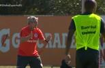 Odair testa possibilidades para a estreia do Inter no Gauchão