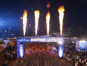 Corrida Maratona da Disney 2012 (Foto: Reprodução Twitter)