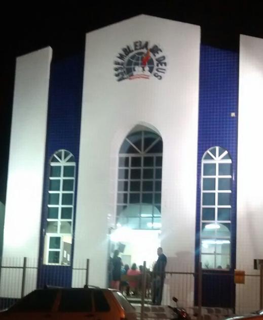 Igreja fica na Avenida Presidente Vargas, no Centro (Foto: Divulgação/Polícia Militar)