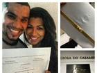 Moranguinho fala de repercussão do convite de casamento na web