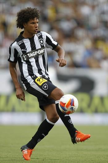 Willian Arão - Botafogo x Santa Cruz (Foto: Vitor Silva / SSPress)