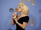 Lady Gaga ganha o Globo de Ouro de melhor atriz em minissérie