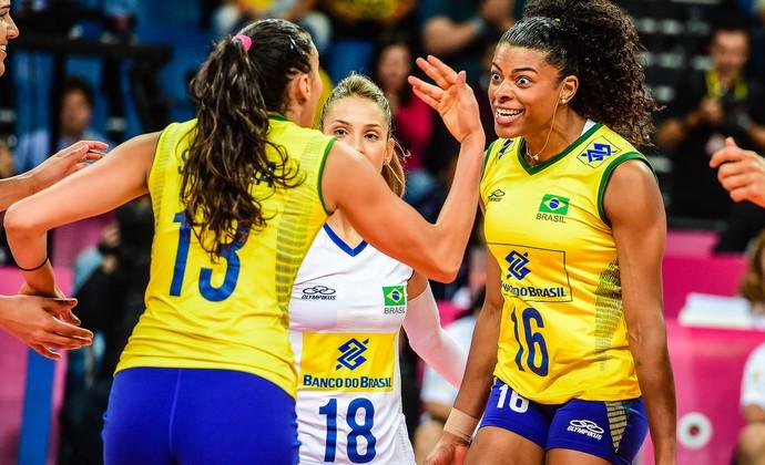 Brasil x Itália, Grand Prix, vôlei (Foto: Divulgação / FIVB)
