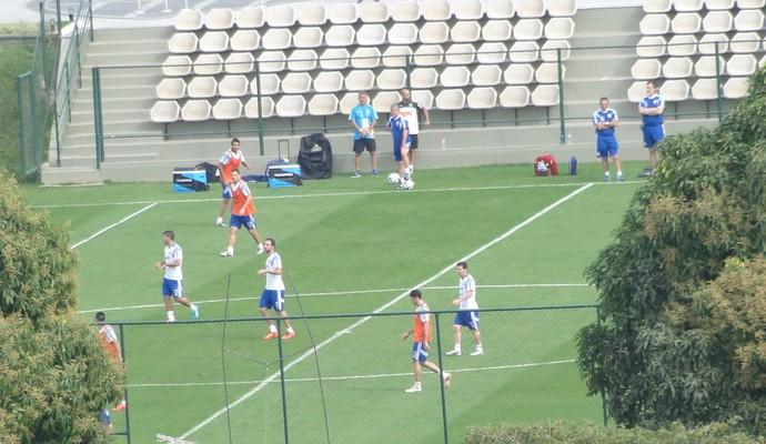 treino argentina (Foto: Fernando Martins)