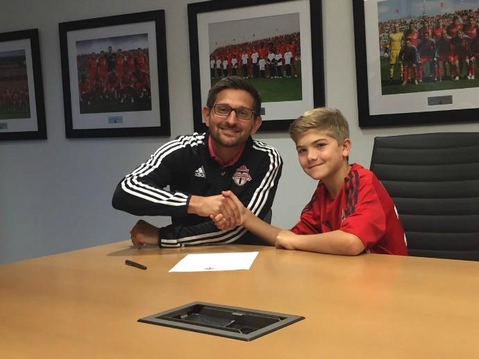 BLOG: Toronto FC dá chance para jovem de 11 anos que sofreu com problemas cardíacos