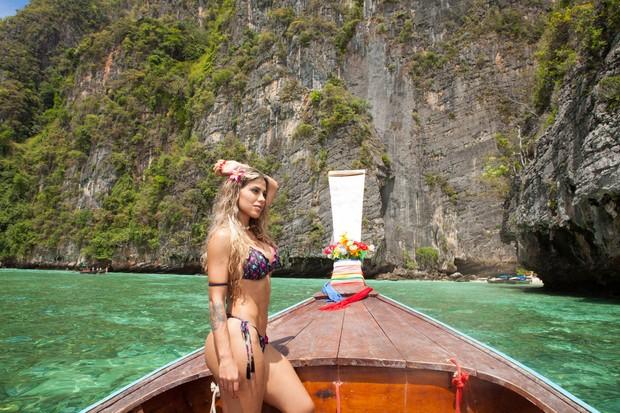 Vanessa Mesquita em Phi Phi Islands (Foto: Divulgação / Adriana Barbosa Fotografias / Adriana Barbosa)