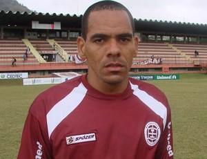 Gilmar, volante da Desportiva Ferroviária (Foto: Leandro Nossa/Globoesporte.com)