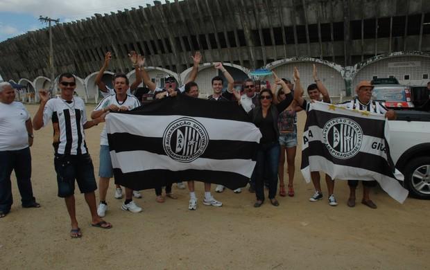 torcida, asa, campina grande, estádio amigão, copa do nordeste (Foto: Phelipe Caldas / Globoesporte.com/pb)