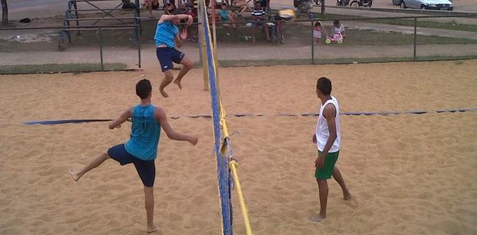 Rodrigo e Yuri. Vôlei de Praia Roraima (Foto: FRV)