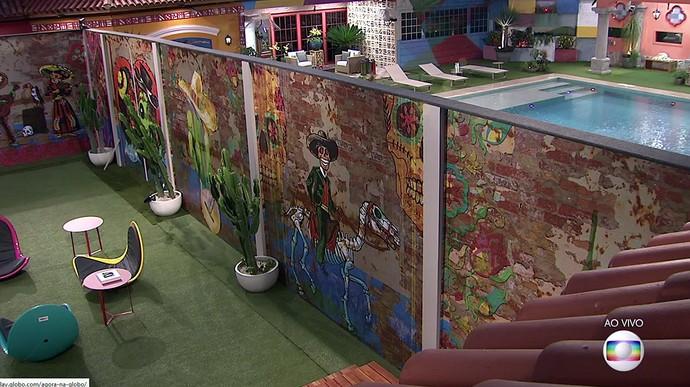 O lado mexicano da novacasa (Foto: TV Globo)