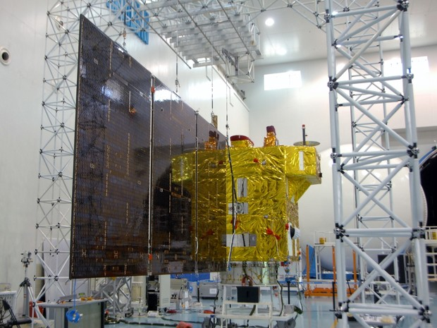 Satélite Cbers-4 Sino-Brasileiro deve ser lançado em 7 de Dezembro