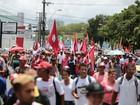 Maceió tem protesto em defesa do governo Dilma e em apoio a Lula