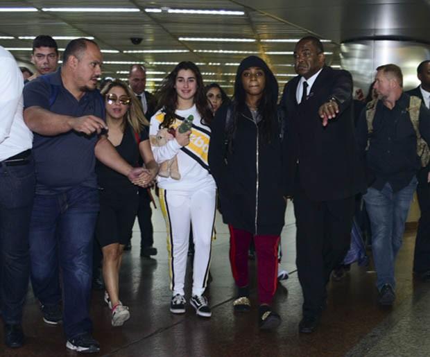 Lauren Jauregui e Normani Kordei, (Foto: Leo Franco/ AgNews)