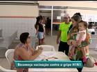 H1N1: volta da vacinação lota postos de saúde no Espírito Santo