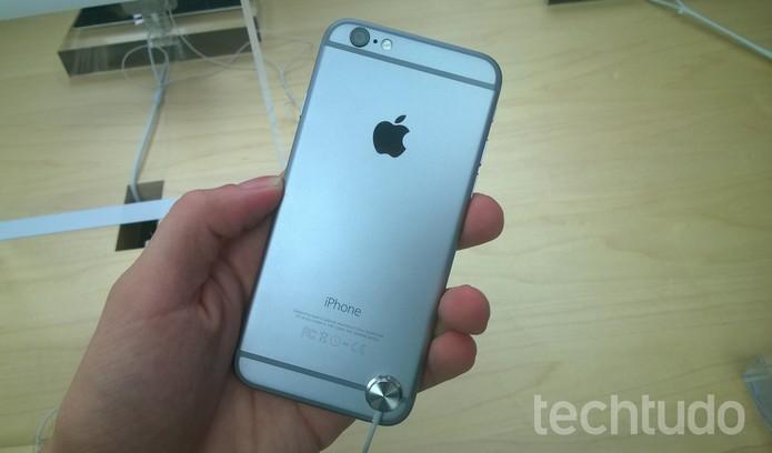 iPhone 6  (Foto: Elson de Souza/TechTudo)