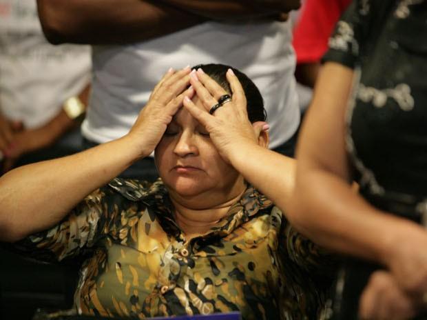 Maria Joel, viúva do sindicalista, não acreditou quando acusados de serem intermediários do crime foram absolvidos em 2013 (Foto: Everaldo Nascimento / O Liberal)