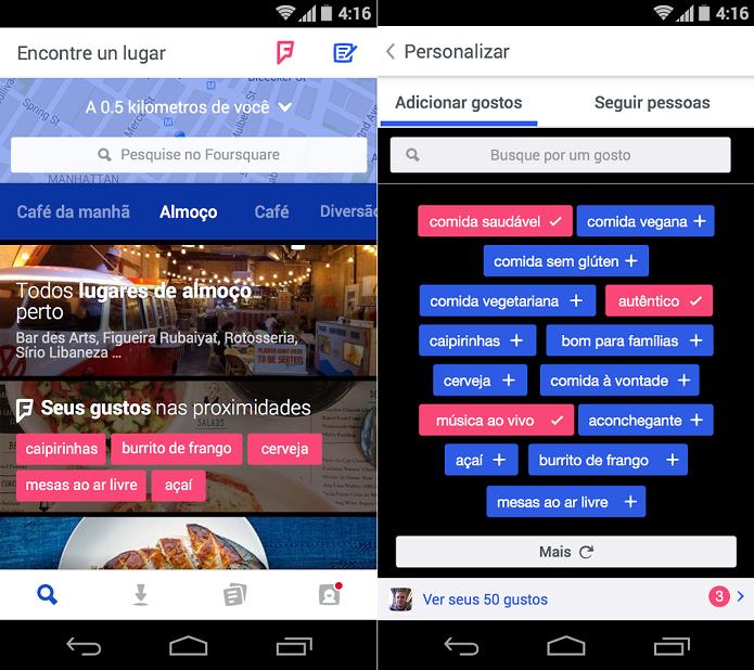 Foursquare está de cara nova (Foto: Divulgação/Foursquare)