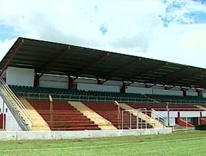 Estádio da Fazendinha , Ituiutaba MG, Ituiutaba Esporte Clube,  BOA, Ituiutaba  (Foto: Reprodução/TV Integração)