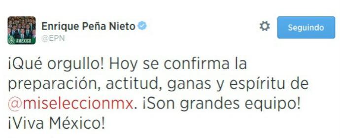 presidente do méxico twitter (Foto: Reprodução Twitter)