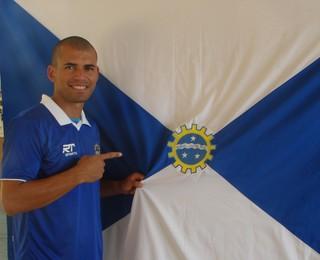 Jairo atacante São José (Foto: Felipe Kyoshy/GloboEsporte.com)