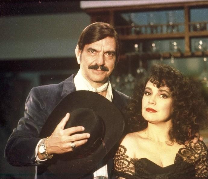 Lima Duarte como Sinhozinho Malta, de 'Roque Santeiro' (Foto: CEDOC/TV Globo)