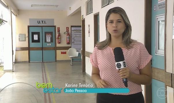 Reportagem de Karine Tenório acompanhado o caso de seu Luiz (Foto: Reprodução)