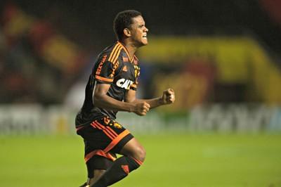 sport x bahia rithely (Foto: Aldo Carneiro / Pernambuco Press)