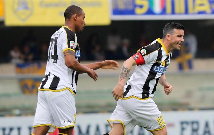 Di Natale gol, Hellas Verona x Udinese (Foto: EFE)