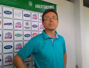 Mauro Rocha Superintendente de Futebol Uberlândia Esporte Clube (Foto: Lucas Papel)
