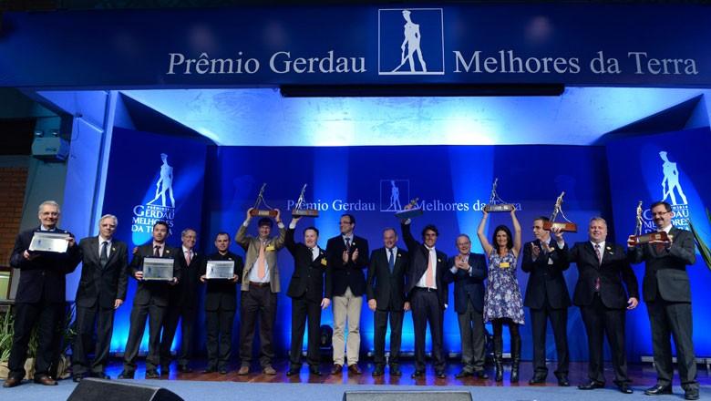 premio-gerdau-melhores-da-terra (Foto: Divulgação)