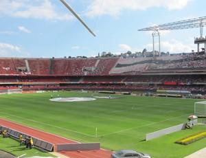 Estádio do Morumbi; clássico (Foto: Leandro Canônico/Globoesporte.com)
