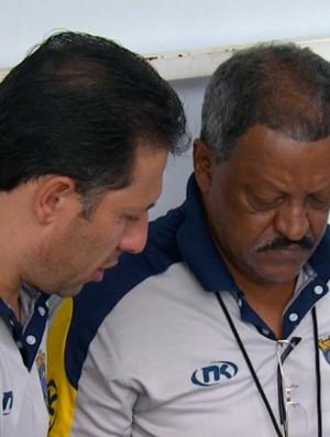 José Carlos Serrão, técnico do São Carlos (Foto: Marlon Tavoni/ EPTV)
