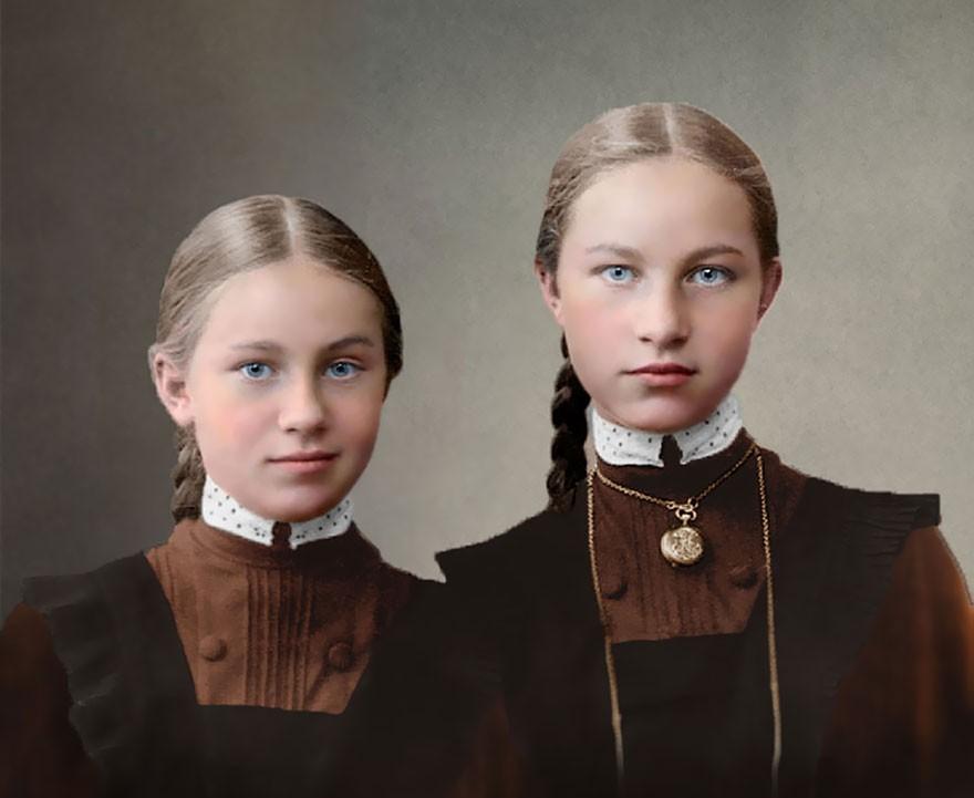 Jovens estudantes da Rússia Imperial (Foto: Reprodução)