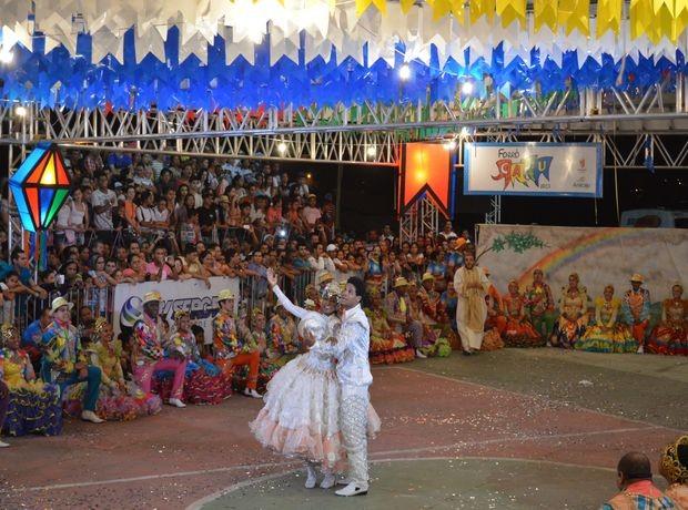 Quadrilha Unidos em Asa Branca irá representar Sergipe no Concurso da Globo Nordeste (Foto: Marina Fontenele/G1)