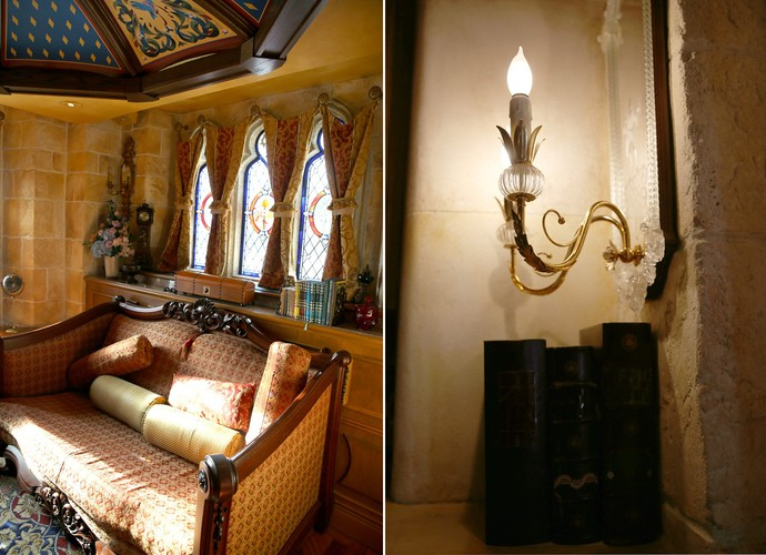Conheça detalhes exclusivos da suíte da Cinderela (Foto: Leonardo Viso/ Gshow)