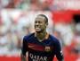 Neymar marca em seu centésimo jogo pelo Barcelona, mas Sevilla vence