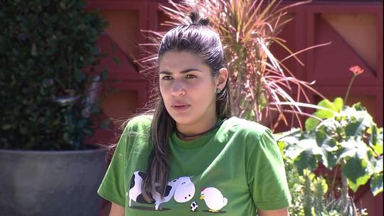 Vivian critica Marcos por discurso após eliminação de Rômulo: 'É cena'
