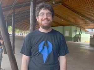 Líder da Falkisgate Caio Martins (Foto: Carol Giantomaso/G1)