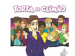 Capa do livro 'Torta de Climão', a ser lançado em novembro (Foto: Divulgação/Editora Hoo)