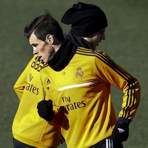 Real Madrid treino Gareth Bale e Álvaro Morata (Foto: EfeServicios)