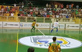 Em estreia em casa, Granja atropela São Gonçalo na Copa TVM