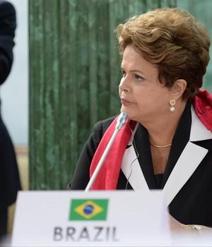 A presidente Dilma Rousseff (Foto: Agência EFE)