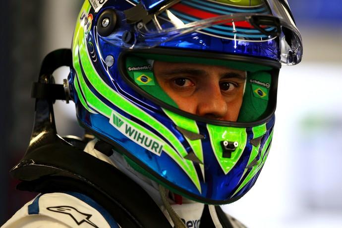 Em Sochi, Felipe Massa comemorou um surpreendente quarto lugar após largar em 15º (Foto: Getty Images)