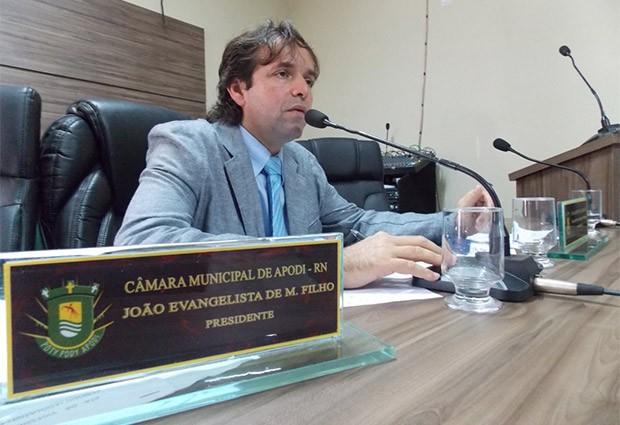 vereador João Evangelista de Menezes Filho. (Foto: Márcio Morais)