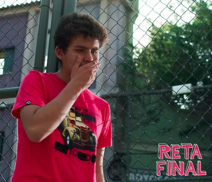 Artur fica arrasado (Foto: TV Globo)