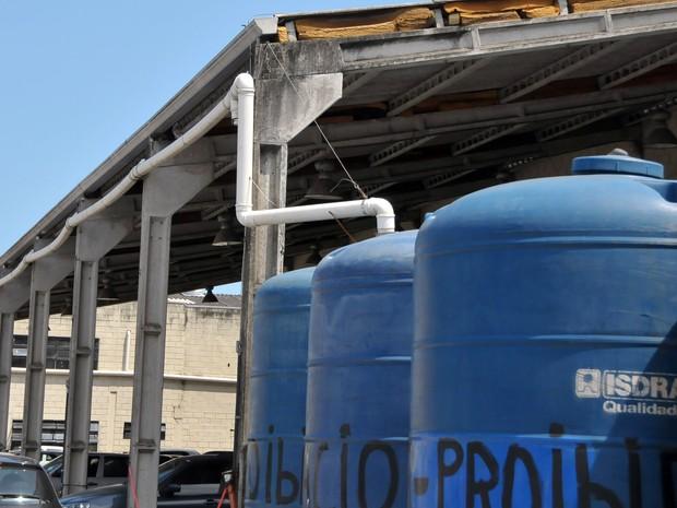 Cisterna foi criada por próprios funcionários (Foto: Jairo-Marques/Prefeitura de Praia Grande)