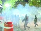 Protesto termina em confronto com a polícia e quebra-quebra em São Paulo