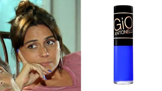 O esmalte de Clara de Em Família (Foto: TV Globo)