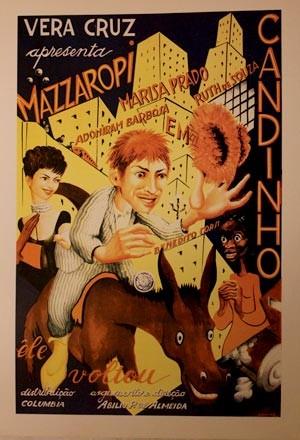 Cartaz do filme Candinho – Ele voltou, que tem participação da atriz Ruth de Souza (Foto: Reprodução)