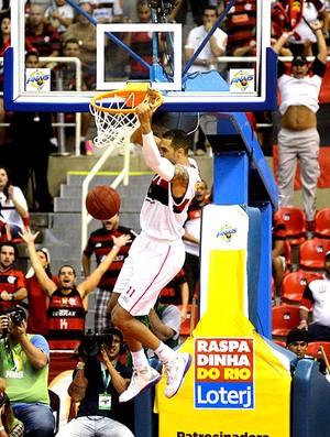 final basquete NBB Flamengo e uberlândia Marquinhos (Foto: André Durão / Globoesporte.com)